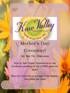 Mother's Day Kaw Valley